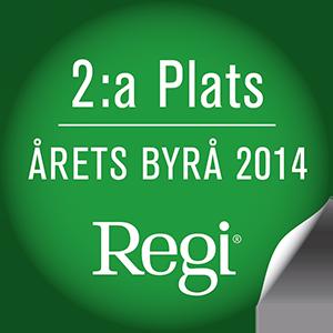 2:a plats Årets byrå